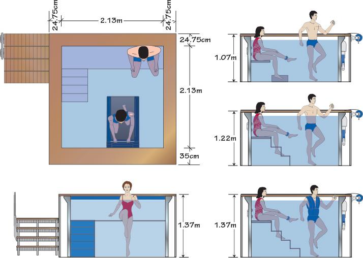 Medidas de piscinas de casas top em dez anos thas teve for Medidas de una piscina para una casa