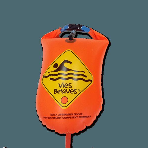 93371f8b1c2a Boya Natación para aguas abiertas Vies Braves - 28 Litros (62 x 30 cm.)