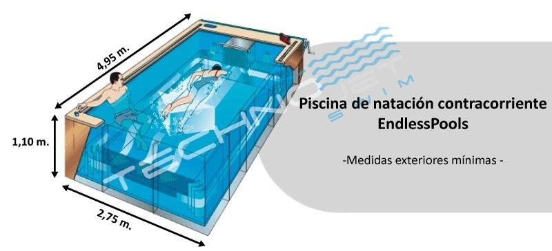 Una piscina contracorriente endlesspools cabe en cualquier for Medidas de una piscina para una casa