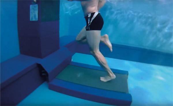 Cinta de correr acuatica motorizada Aquatread