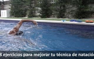Mejora tu técnica de natación gracias al Fastlane y estos 28 ejercicios
